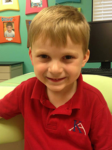 The Children's Dental Center's April 2015 Cavity Free Winner