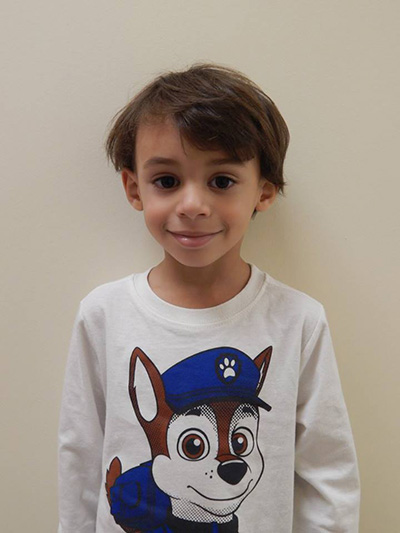 The Children's Dental Center's January 2016 Cavity Free Winner