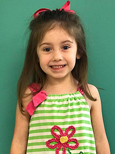 The Children's Dental Center's July 2016 Cavity Free Winner