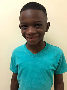 The Children's Dental Center's September 2016 Cavity Free Winner