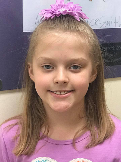 The Children's Dental Center's February 2017 Cavity Free Winner
